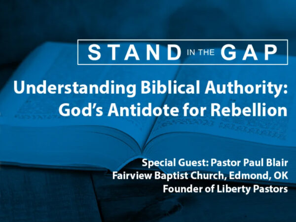 Understanding Biblical Authority: God's Antidote for Rebellion (Part 2) Image